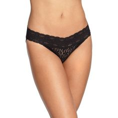 Wacoal Halo Lace Bikini (€14) ❤ liked on Polyvore featuring intimates, panties, apparel & accessories, wacoal, lacy bikini and lace bikini