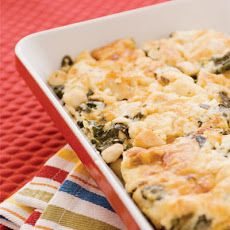 Chicken & Spinach Pasta Casserole Recipe