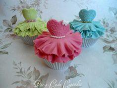 Ballerina Tutu Cupcakes