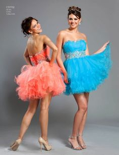 prom/homecoming dress | Prom Look | Coral Dresses - SHOP BY COLOR | 2013 Prom Looks (Official)