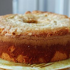 Sour Cream Pound Cake – it's a good solid recipe.. Especially if you have a cup or so of sour cream needing to be used. :)