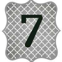 Gray_Black Number-7
