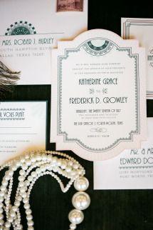 Downton Abbey Wedding Inspiration   Photos - Style Me Pretty
