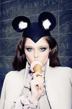 Coco Rocha. Vogue Japan.