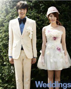 Modern Korean Wedding Dress