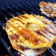 Honey Grilled Pork Chops