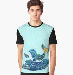 Starry Nite Whale 373. Graphic T-Shirt Designed and sold by sana90