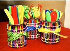Fiche créative: Pot à crayons DIY