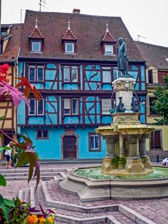 Roesselmann Fountain, Colmar, France