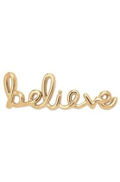 No one ever changed the world by accident. Wear this Key so you don't stop Believin'.