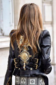 Street style semana de moda en Paris primavera verano 2014 Moda en la calle | Galería de fotos 37 de 125 | Vogue México