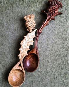 New Diy Kitchen Utensils Wooden Spoons Ideas Wooden Spoon Carving, Carved Spoons, Wood Spoon, Bushcraft Projects, Welsh Love Spoons, Spoon Art, Wood Sculpture, Abstract Sculpture, Bronze Sculpture