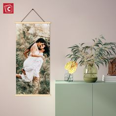 Our hanging canvas wall art brings a clean and natural touch to your décor. We'll print your image on high-quality canvas and add a stunning touch with two dramatic wooden hangers. Learn more about this product here! Hanging Canvas, Canvas Wall Art, Canvas Prints, Wooden Hangers, Photo Look, Your Image, Touch, Natural, Painting