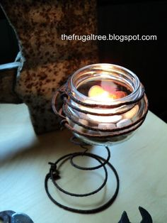 Inspiration~The Frugal Tree: Junk to Jewel Transformation