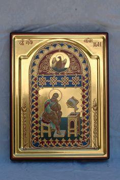 82980 - Апостолы - ученики Христа Religious Icons, Religious Art, Byzantine Icons, Art Icon, Orthodox Icons, Contemporary, Frame, Illustration, Byzantine Art