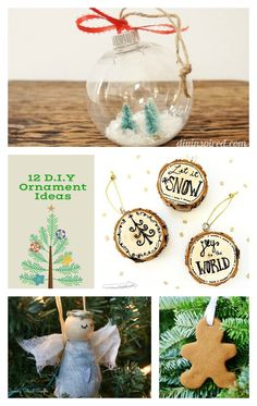 DIY Ornament Ideas by @mommalewsblog