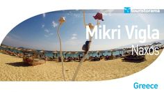 Discover a magnificent beach for your summer vacation in Naxos Island, named Mikri Vigla. One of the most famous beaches of the island, Mikri Vigla offers calm family holidays. Escape to Greece and capture beauty! Naxos Greece, Famous Beaches, Places To Go, Calm, Island, Holidays, Vacation, Summer, Beauty