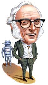 Asimov had published more than 470 books, ranging from science-fiction classics to annotated guides of great literature to limerick collections to The Sensuous Dirty Old Man, a defense and celebration of lechery