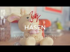 Osterhase, Easter, Bunny, Sugarpaste, modellieren, Anleitung, how to, diy, Hase, YouTube