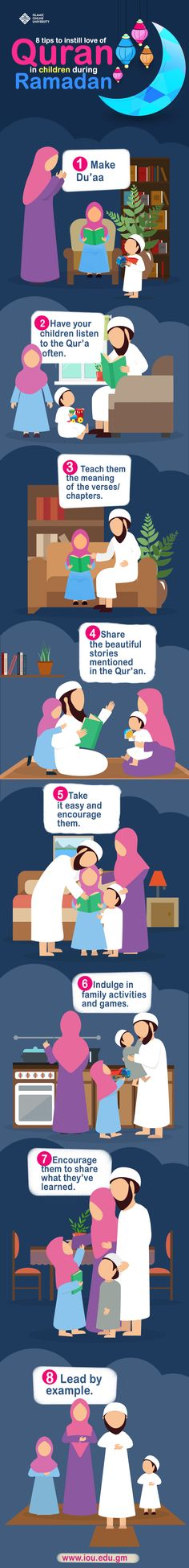 8 Tips to Instill the Love of Qur'an in Your Children's Heart - IOU Blog