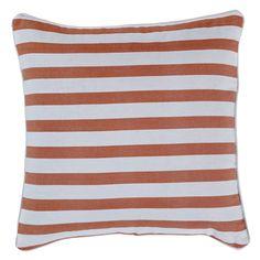 Gelato Stripe in Tangerine Striped Cushions, Indoor, Throw Pillows, Gelato, Collection, Home, Fashion, Interior, Moda