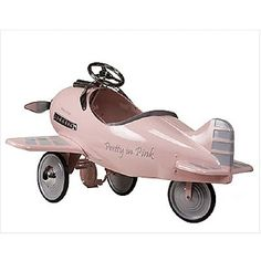 American Retro, LLC Pink Airplane Ages 3-6 I wonder if this comes in blue or gender neutral color??
