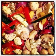 Bored of Veggies? Try them Roasted! #nutrition #dietitian #blog