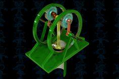 Dwell Piston Mechanism - Parasolid,SOLIDWORKS - 3D CAD model - GrabCAD