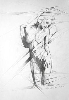 standing figure sketch by Art By Doc, via Flickr