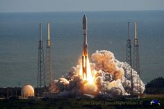 NASA has tapped United Launch Alliance's Atlas V launch vehicle to power a solar observatory mission to orbit in 2017. Photo Credit: Jim Sie...