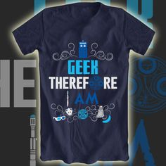 Who's Geeky? tee now on sale at Aplentee.com