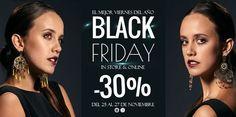 BLACK FRIDAY EN TODAS LAS TIENDAS Y ONLINE!!!   www.alejandravaldivieso.com
