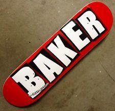 For 90.00 AUD is an awesome Baker Skateboards OG Logo Skateboard Deck 8.375 Free Grip Free Post!