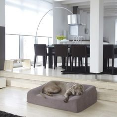 MiaCara dog sofa LUNA mottled brown