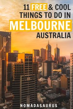 Melbourne and Australia can be expensive! So, here's why these free things to do in Melbourne are so awesome! Brisbane, Sydney, Perth, Australia Travel Guide, Australia Tourism, Visit Australia, Melbourne Australia, Coast Australia, Western Australia