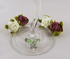 More Than Nählanie: [#blogbetter2gether] Weinglasringe - Glasmarkierer