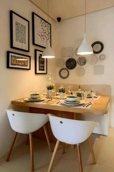 Best and Stylish Inspiring First Apartment Dining Room Ideas 12 - Best and Styl. - Best and Stylish Inspiring First Apartment Dining Room Ideas 12 – Best and Stylish Inspiring Fir - Small Dining Room Furniture, Tiny Dining Rooms, Beautiful Dining Rooms, Dining Room Table, Small Dining Area, Dining Nook, Small Square Dining Table, Small Dinner Table, Space Saving Dining Table
