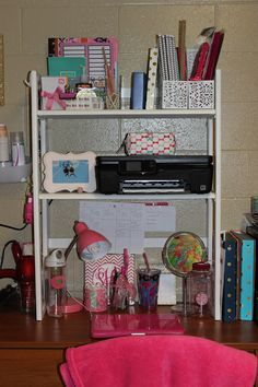 Prep Avenue: 2 Preps & a Dorm Room shelf from the container store