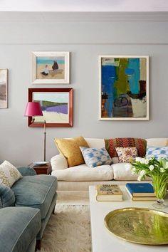 New York Living Room of Anne Dubbs - Living Room Design Ideas (houseandgarden.co.uk)#ViewImage#ViewImage
