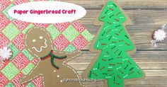 Cute, easy and fun paper gingerbread craft that you can make after reading a Gingerbread man book. Great craft for preschool or kindergarten. Gingerbread Man Book, Gingerbread Crafts, Kindergarten Reading Activities, Kindergarten Crafts, Teaching Phonics, Help Teaching, Easy Preschool Crafts, Crafts For Kids, Paper Goods
