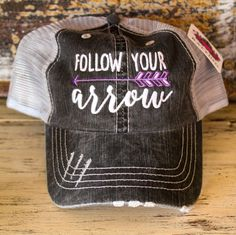 Follow Your Arrow Trucker Hats