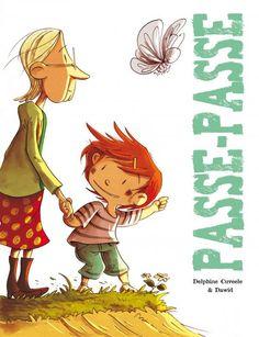 """""""Passe-Passe"""" de Dawid et Delphine Cuveele chez les éditions de La Gouttière."""
