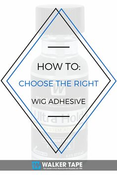 Check out our #blog for everything you need to know before choosing your #wig adhesive!