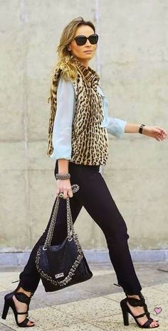 #streetstyle #style #streetfashion #fashion #animal #print #leopard