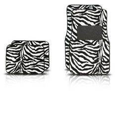 A Set of 4 Universal Fit Animal Print Carpet Floor Mats for Cars / Truck - Zebra White Tiger Unknown http://www.amazon.com/dp/B000VDX170/ref=cm_sw_r_pi_dp_Yfekub1RB39PE