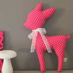 Etsy – Buy handmade, vintage, personalized and unique gifts for everyone - Stofftiere Animal Sewing Patterns, Stuffed Animal Patterns, Fabric Toys, Fabric Crafts, Baby Sewing Projects, Sewing Crafts, Diy Plush Toys, Tilda Toy, Diy Bebe