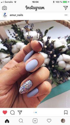 Semi-permanent varnish, false nails, patches: which manicure to choose? - My Nails Cute Acrylic Nails, Matte Nails, Dream Nails, Love Nails, Nail Art Diy, Diy Nails, Gorgeous Nails, Pretty Nails, Cute Christmas Nails