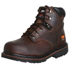 """Timberland PRO Men's Pitboss 6"""" Steel-Toe Boot,$89.24 - $125.95Lower price available on select options"""