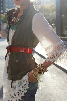 Gypsy style - Layered look