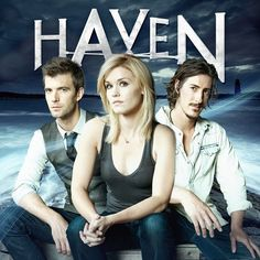 Haven. Now who wouldn't love a show based on a Stephen King book? And Duke, OMG, Duke! I find him oddly sexy! Sci Fi Series, Drama Series, Audrey Parker, Lucas Bryant, Eric Balfour, Best Tv, Season 3, Favorite Tv Shows, Movies